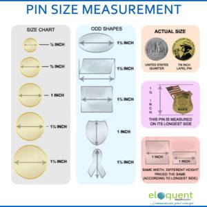 Lapel pin sizes in lagos Nigeria