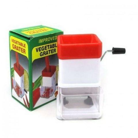Plastic vegetable grater